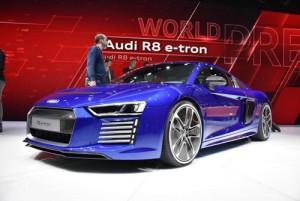 Audi R8 2015 bảnh chọe tại Geneva