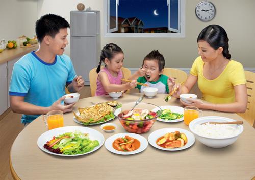 Thực đơn dinh dưỡng cho gia đình sau dịp Tết - 1
