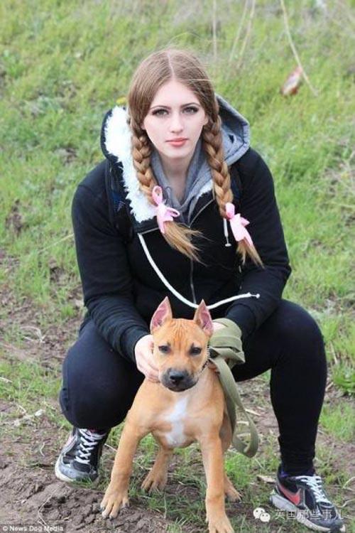 Cô gái Nga xinh như thiên thần có cơ bắp cuồn cuộn - 6