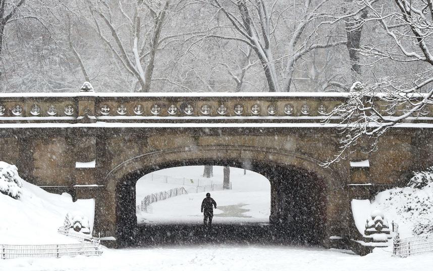 """Ảnh: Miền đông nước Mỹ """"oằn mình"""" chống bão tuyết - 8"""