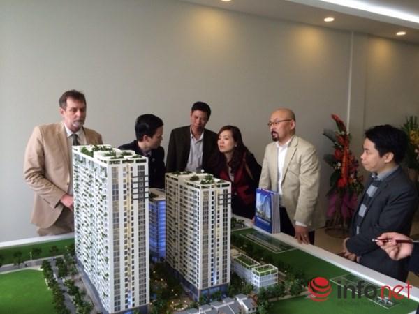 """Hà Nội: Dự án chung cư """"đổ bộ"""", giá có giảm? - 1"""