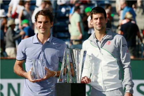 Indian Wells sôi sục vì Nadal, Djokovic, Federer - 1