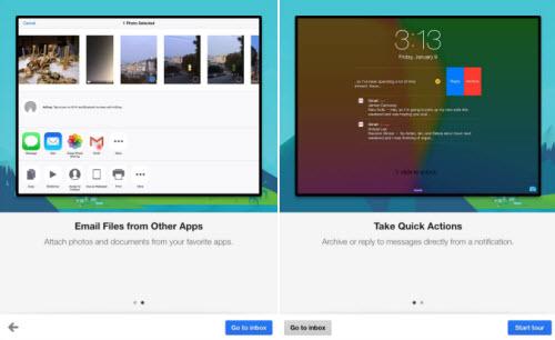 Gmail trên iOS cho phép trả lời thư từ màn hình khóa - 1