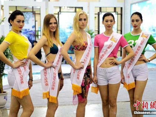Lạ đời nghề làm hoa hậu giả ở Trung Quốc - 9