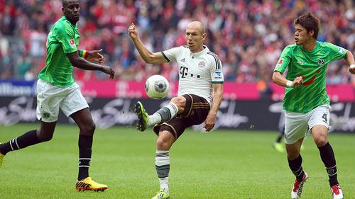 "Hannover - Bayern: Khó cản ""Hùm xám"" - 2"