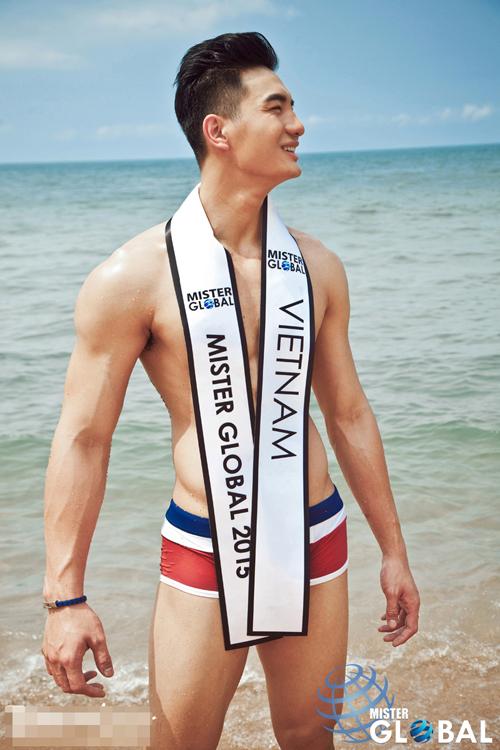 Chuyện bên lề quanh đại diện Việt tại cuộc thi nam vương - 1
