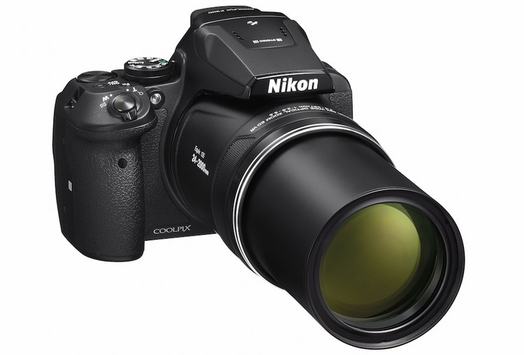 Cận cảnh máy ảnh siêu zoom Nikon Coolpix P900 - 1