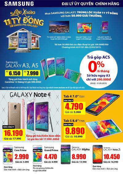 Loạt Smartphone Samsung mới giá rẻ cấu hình cao hút khách - 4