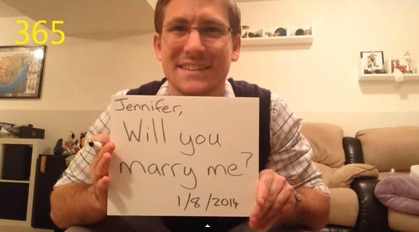 Màn cầu hôn lãng mạn với 365 ngày để thực hiện - 2