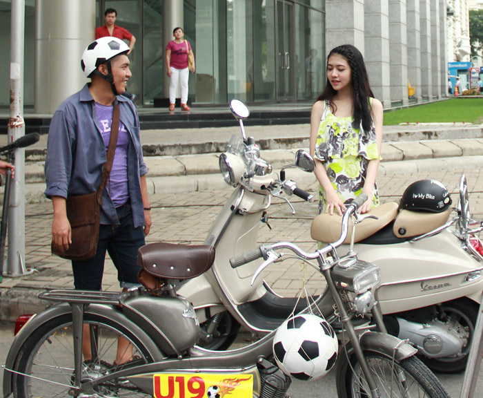 Cháu gái Trang Nhung gây bất ngờ cho cả đoàn phim - 4