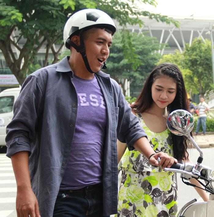 Cháu gái Trang Nhung gây bất ngờ cho cả đoàn phim - 6