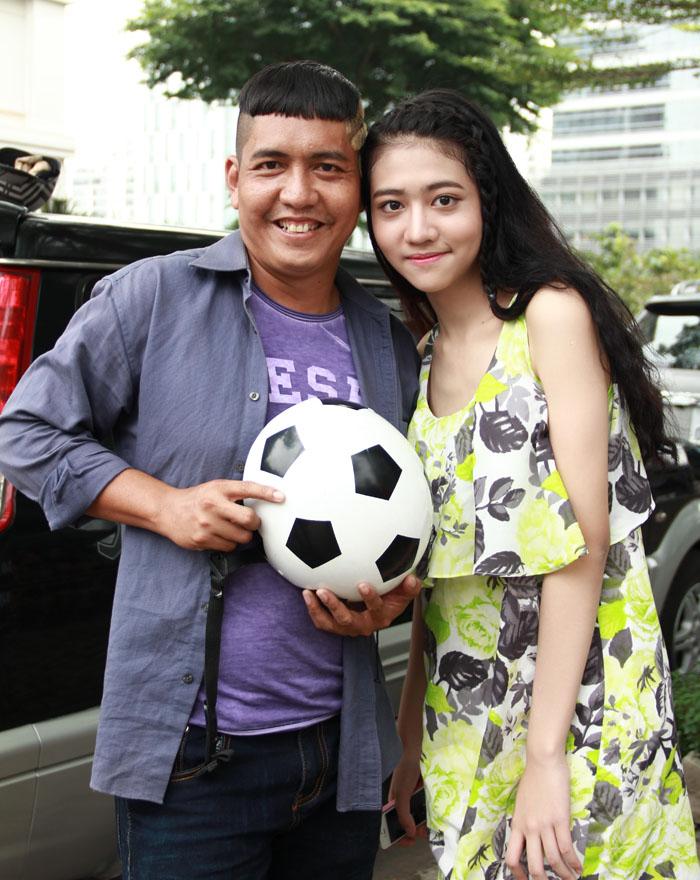 Cháu gái Trang Nhung gây bất ngờ cho cả đoàn phim - 2