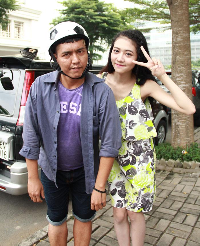 Cháu gái Trang Nhung gây bất ngờ cho cả đoàn phim - 7