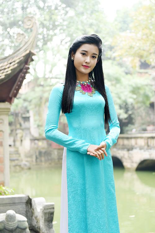 """Á hậu Huyền My """"hóa"""" thiếu nữ Hà Nội xưa - 9"""
