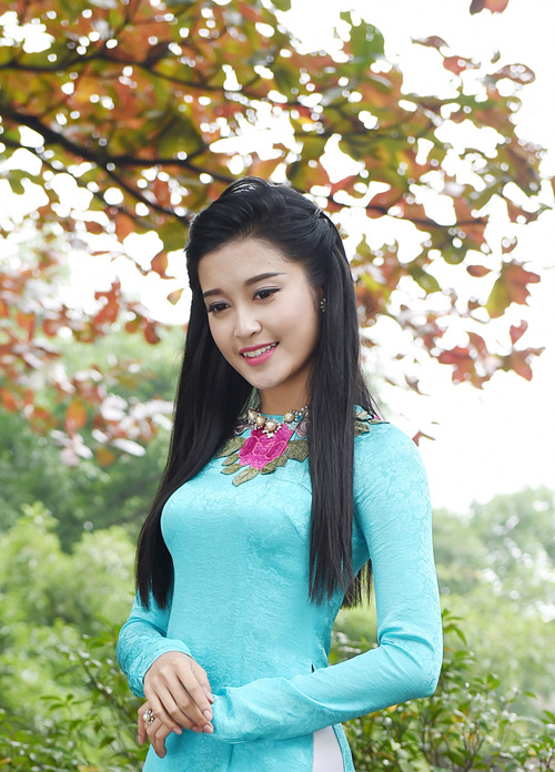 """Á hậu Huyền My """"hóa"""" thiếu nữ Hà Nội xưa - 8"""