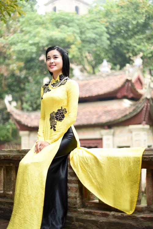 """Á hậu Huyền My """"hóa"""" thiếu nữ Hà Nội xưa - 11"""