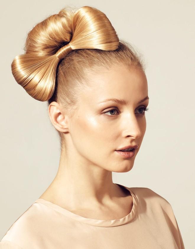Trẻ trung hơn với kiểu tóc thắt nơ xinh xắn - 1