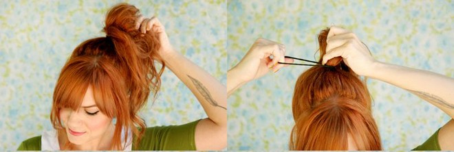 Trẻ trung hơn với kiểu tóc thắt nơ xinh xắn - 3