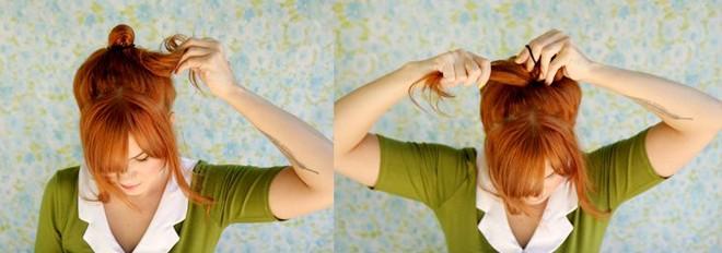 Trẻ trung hơn với kiểu tóc thắt nơ xinh xắn - 4