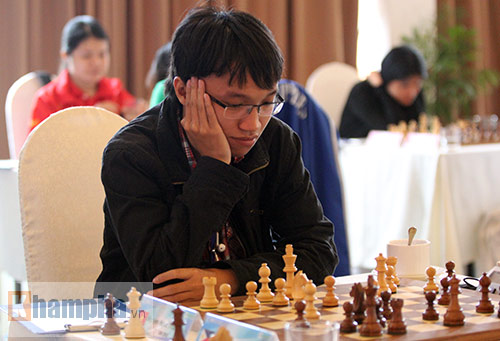 Cờ vua: Quang Liêm thắng ván đầu ở vòng loại World Cup - 2