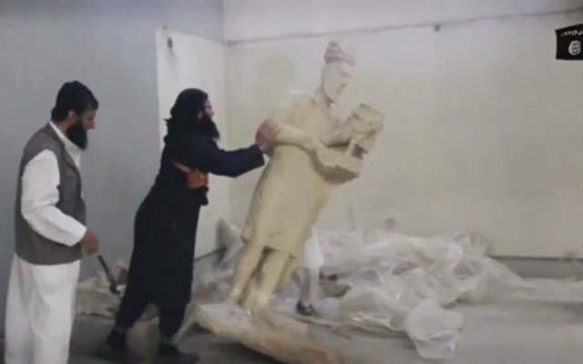 """Phiến quân IS điên cuồng """"san bằng"""" thành phố cổ Iraq - 2"""