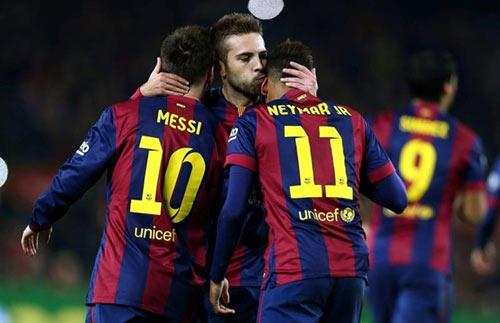 """""""Mồi ngon"""" của Messi và cơ hội """"truất ngôi"""" Real - 2"""