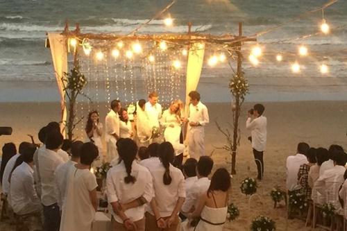 Phương Vy bí mật tổ chức hôn lễ trên bãi biển - 3