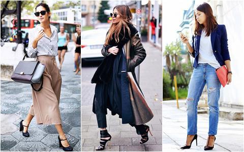 Giày cao gót đen và đẳng cấp của phái đẹp