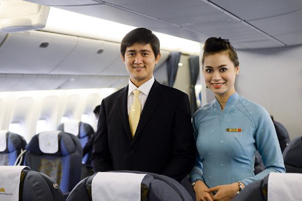 Vietnam Airlines thử nghiệm đồng phục mới - 2