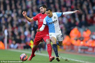 TRỰC TIẾP Liverpool - Blackburn: Nỗ lực trong tuyệt vọng (KT) - 4