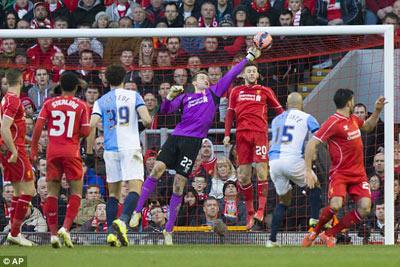 TRỰC TIẾP Liverpool - Blackburn: Nỗ lực trong tuyệt vọng (KT) - 6