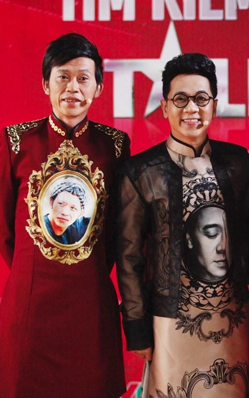 """Hoài Linh tặng quà độc cho """"bộ tứ quyền lực"""" Got talent - 7"""