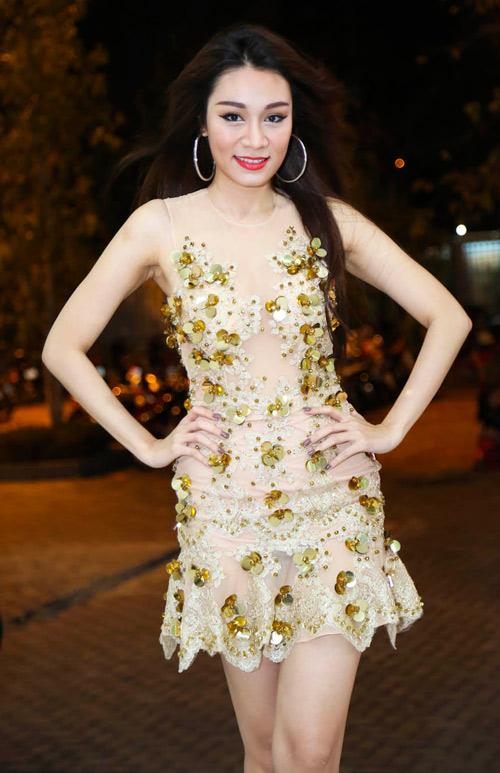 Trương Quỳnh Anh gợi cảm bên MC Vũ Mạnh Cường - 7