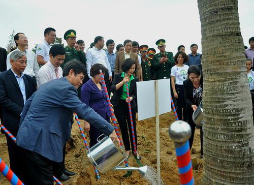 Trồng hơn 13.000 cây xanh tại khu mộ Đại tướng Võ Nguyên Giáp - 3