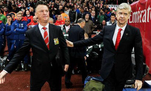"""Van Gaal tính buông FA cup, Wenger vẫn bị Giggs """"ám ảnh"""" - 1"""