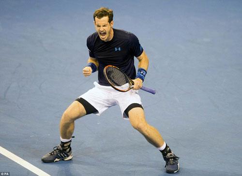 BXH tennis 9/3: Murray đòi lại số 4 từ Nishikori - 1