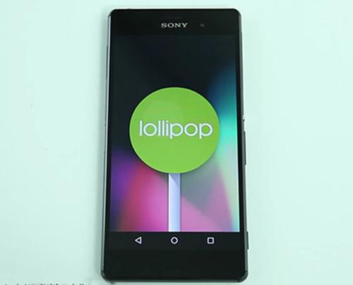 Sony chỉ phát hành Android 5.0 cho Xperia Z - 1