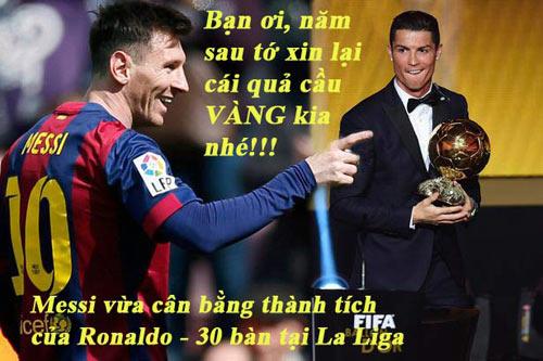 """Ảnh chế tuần 2-8/3: Messi """"xát muối"""" Ronaldo, chắc Miura không về - 9"""
