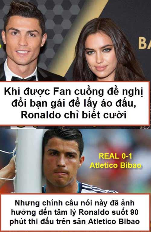 """Ảnh chế tuần 2-8/3: Messi """"xát muối"""" Ronaldo, chắc Miura không về - 2"""