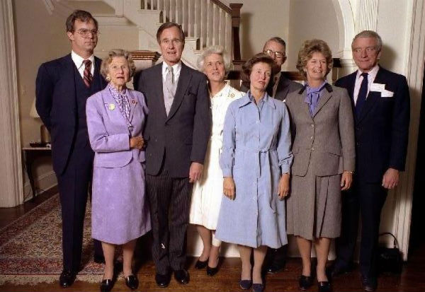 70 năm hạnh phúc của vợ chồng cựu Tổng thống G. Bush - 5