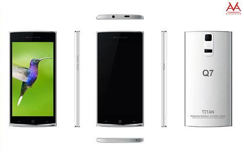 """Khám phá """"siêu điện thoại trong mơ"""" Titan Q7 giá 4.3 triệu đồng - 1"""