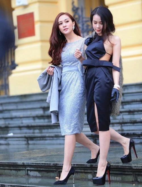 Thời trang ngày càng quyến rũ của dàn hot girl Việt - 1