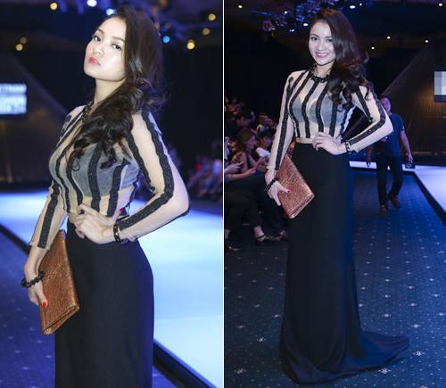 Thời trang ngày càng quyến rũ của dàn hot girl Việt - 5
