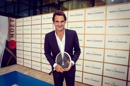 Federer lịch lãm bên dàn người đẹp Hollywood - 1