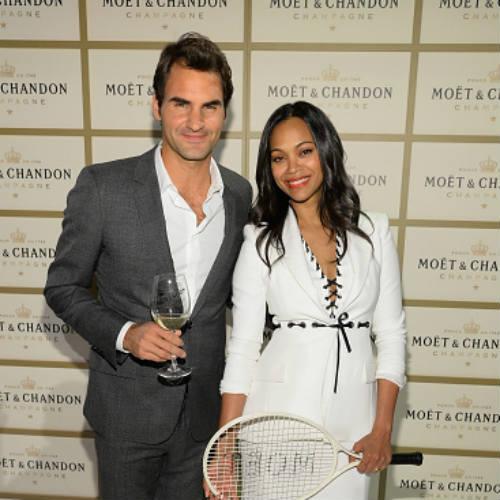 Federer lịch lãm bên dàn người đẹp Hollywood - 2