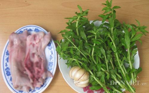 Lạ miệng món chuột bằm xào rau mò om - 2