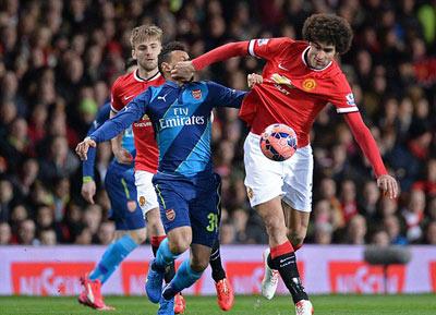 "TRỰC TIẾP MU - Arsenal: Welbeck ""xát muối"" vào MU (KT) - 5"