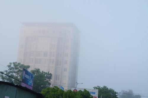 Quảng Nam: Sương mù phủ trắng thành phố Tam Kỳ - 3