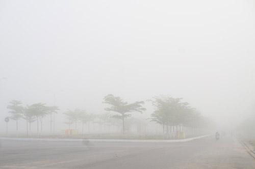 Quảng Nam: Sương mù phủ trắng thành phố Tam Kỳ - 7