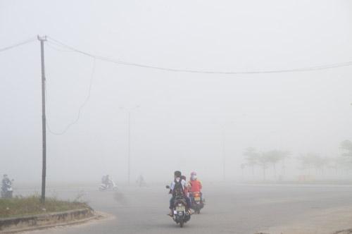 Quảng Nam: Sương mù phủ trắng thành phố Tam Kỳ - 6